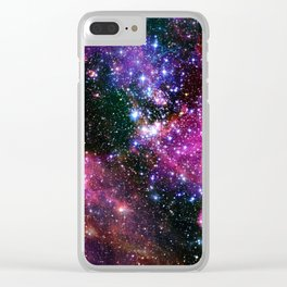 Outer Space Two Clear iPhone Case