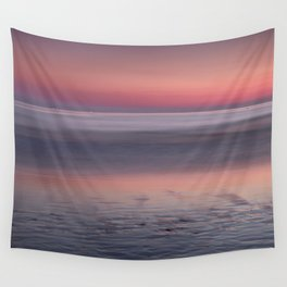 Barrosa beach at sunset. Sancti Petri Wall Tapestry