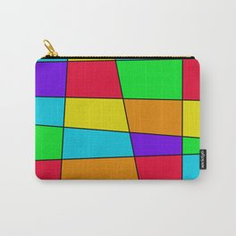 Colorful Window Three Carry-All Pouch