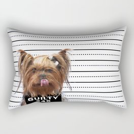 GUILTY! Rectangular Pillow