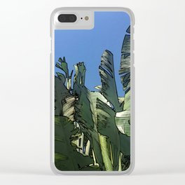 Dominican Palms Clear iPhone Case