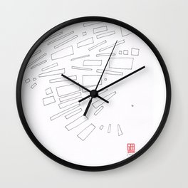 Composition #9 2016 Wall Clock