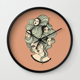Sleepers Wall Clock
