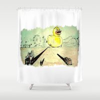 carnival Shower Curtains featuring Carnival by Push