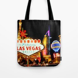 Living Las Vegas 2 Tote Bag