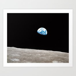 Earthrise William Anders Kunstdrucke