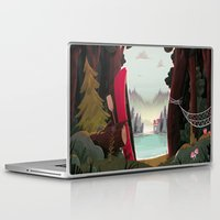 beaver Laptop & iPad Skins featuring Camp Beaver by Manuel Kilger