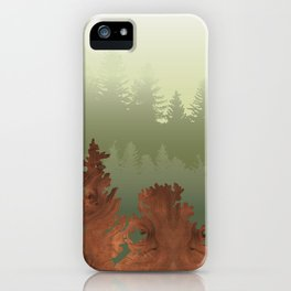 Treescape Green iPhone Case
