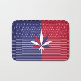 Cannabis USA Bath Mat
