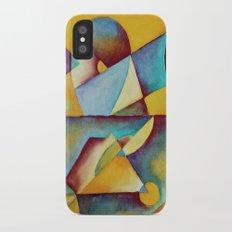 Blue iPhone X Slim Case