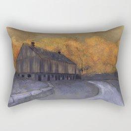 At Just Dawn Rectangular Pillow