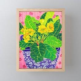 Primula Framed Mini Art Print