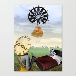 Rebels against time Canvas Print