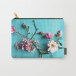 Flowers of Spring Carry-All Pouch