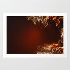 Crescent. Art Print