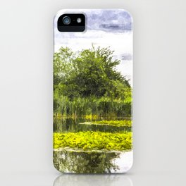 The Lily Pond Art iPhone Case