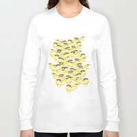 cows Long Sleeve T-shirts featuring Cows by Ana Elisa Granziera