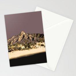 Marbella Mocha Stationery Cards