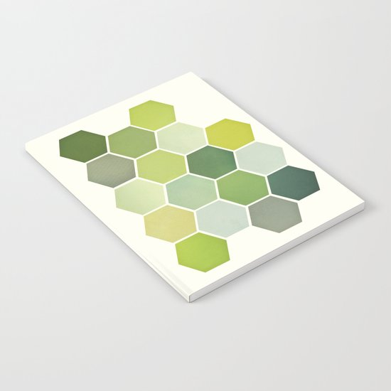 Shades of Green Notebook