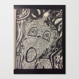 oh mi oh my Canvas Print