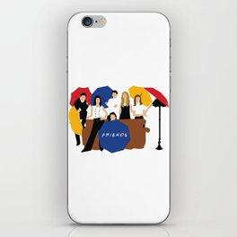 Friends Umbrella iPhone Skin