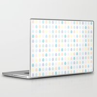 polkadot Laptop & iPad Skins featuring Mini Pastel Polkadot by chelsea dawn brown