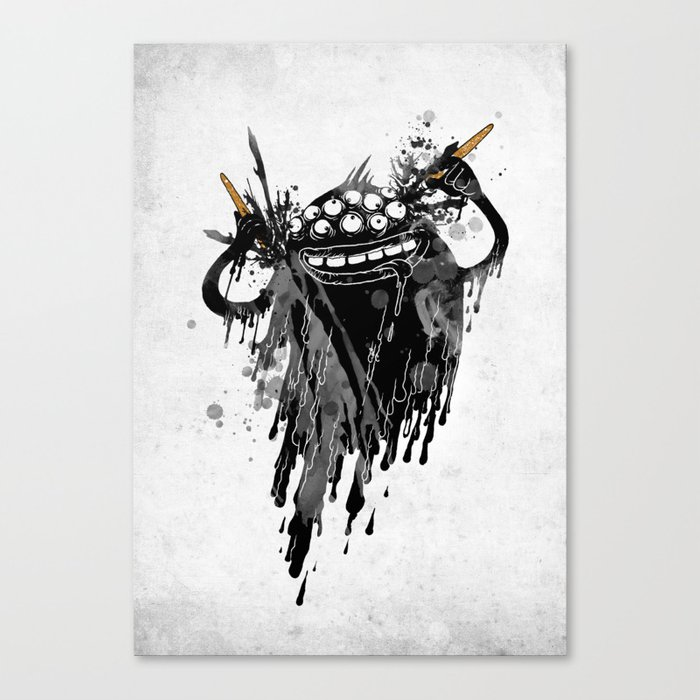 Monsta.Ink! Canvas Print