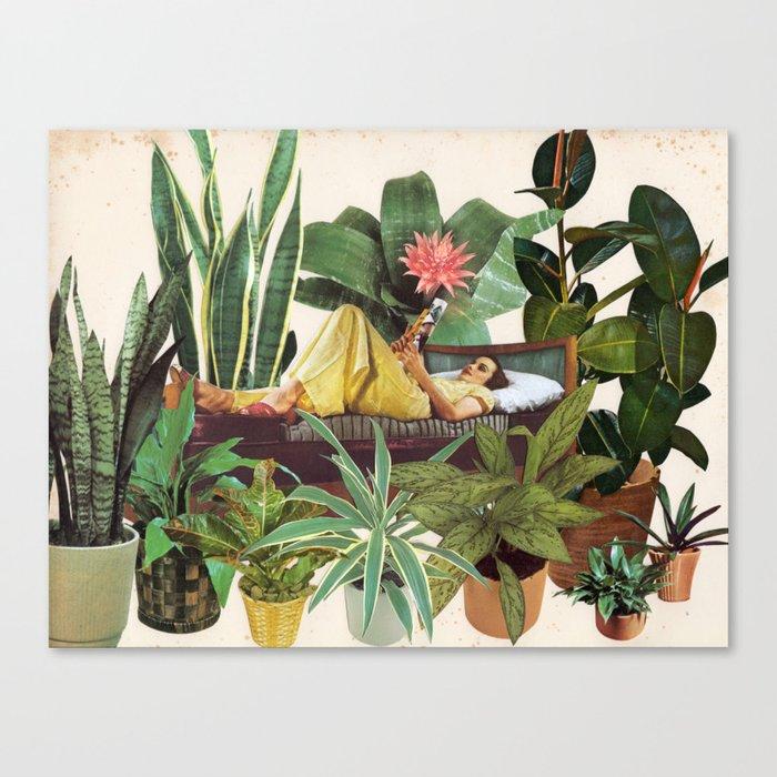 TERRARIUM by Beth Hoeckel Canvas Print