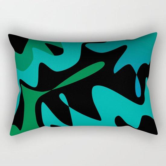 Camo Splat Rectangular Pillow