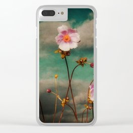 Storm On The Horizon Clear iPhone Case