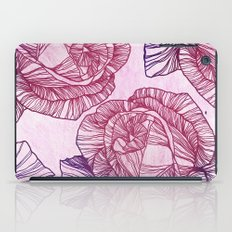 Purple rose iPad Case