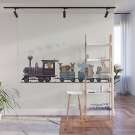 little nature train Wall Mural
