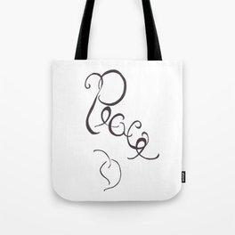 Peace Leaf Tote Bag