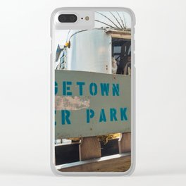 Georgetown Trailer Park Clear iPhone Case
