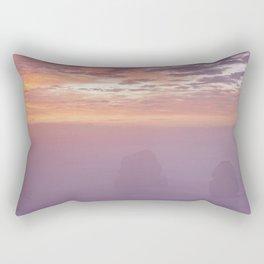 Gog and MaGog At Sunrise. 12 Apostles Along The Great Ocean Road. Rectangular Pillow