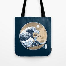 The Great Wave of Republic City Tote Bag
