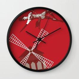 Moulin Wall Clock