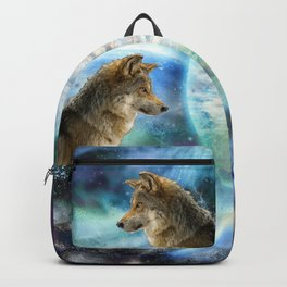Wolf and Planets Backpack