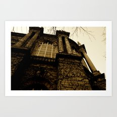 Agricultural Museum, Budapest. Art Print