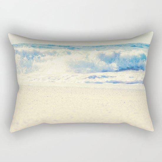 Beach Gold Rectangular Pillow