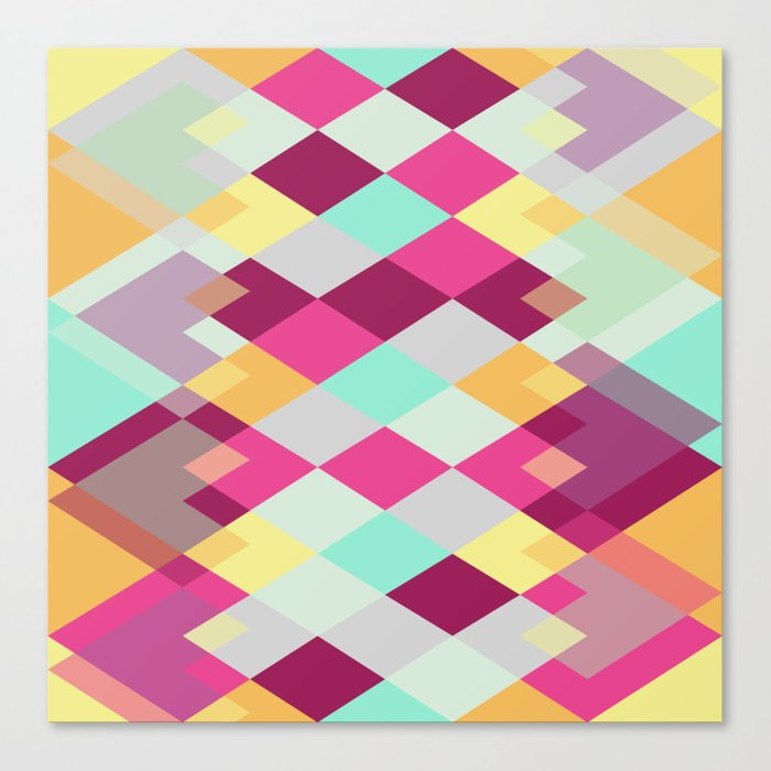 Tribal IV Canvas Print