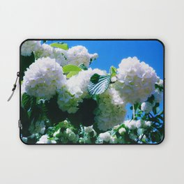 Blue Snowball Branch Laptop Sleeve