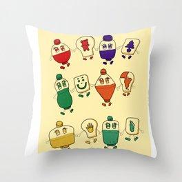Jam Jam Throw Pillow