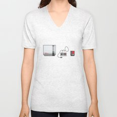 #38 Nintendo Entertainment System Unisex V-Neck