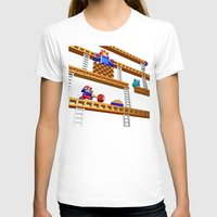 donkey kong T-shirts featuring Inside Donkey Kong stage 2 by Metin Seven