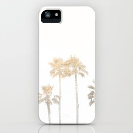 Tranquillity - gold dust iPhone Case
