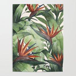 Tropical Flora I Poster