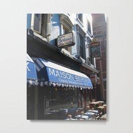 Maison Bertaux Metal Print