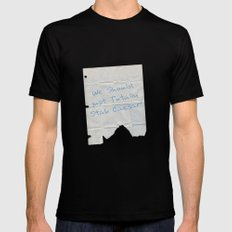 We Should Just Totally Stab Caesar! quote from the movie Mean Girls Black MEDIUM Mens Fitted Tee