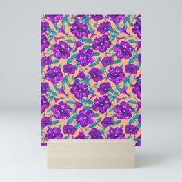 Petunia Night Sky (2) Mini Art Print